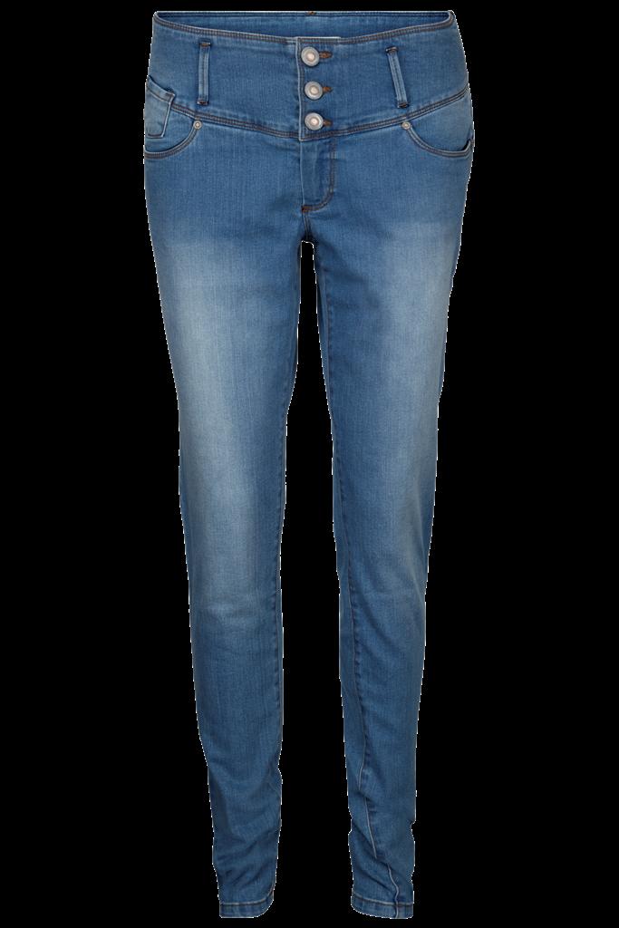 Friendtex Flora Jeans Denim Light Blue